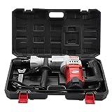 Elektrischer Abbruchhammer, 220V 1850W elektrischer Bohrhammer mit Antivibrationsgriff, 3750 U/min, 38J Einzelhammerkraft für Unterbrecher Betonschlag(EU 220V)