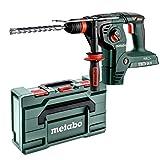 Metabo Akku-Hammer KHA 36-18 LTX 32 (600796840) 18V ; MetaLoc; mit Metabo-Quick-Wechselfutter, Akkuspannung: 18 V, Max. Einzelschlagenergie (EPTA): 3.1 J, Max. Schlagzahl: 4500 /min