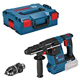 Bosch Professional Akku Bohrhammer GBH 18V-26 F (ohne Akku, 18 V, Bohr-Ø in Beton: 4-26 mm, in L-BOXX)