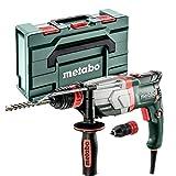 Metabo Multihammer UHEV 2860-2 Quick (600713500) metaBOX 145 L; mit Metabo-Quick-Wechselfutter, Max. Einzelschlagenergie (EPTA): 3.4 J, Max. Schlagzahl: 4500 /min, Nennaufnahmeleistung: 1100 W